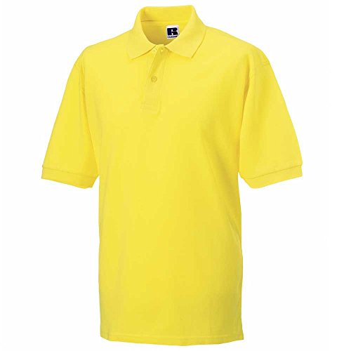 Russell Collection 100% cotton Mens Polo Shirt