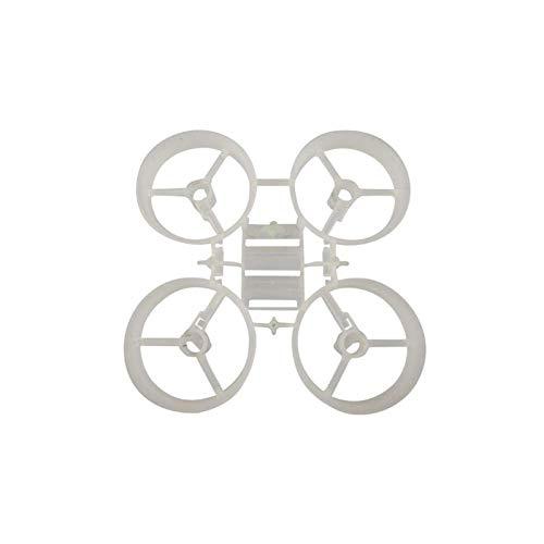 JRUIAN DIY Drone Kit Tiny Frame 65Mm Kit/para E010 Jjrc H36 Drone Motor Parts (Color : White, Size : China)