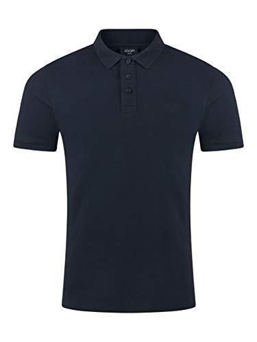 Joop! Herren Kurzarm Poloshirt Regular Fit Beeke Polo Shirt Blau Rosa 100% Baumwolle S M L XL XXL 3XL, Größe:M, Farbe:Navy 405