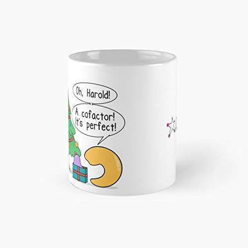 A Merry Enzyme Christmas Classic Mug | Best Gift Funny Coffee Mugs 11 Oz