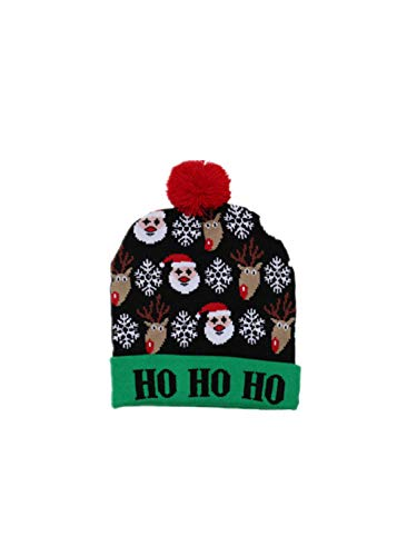 Find Discount Christmas decorations Adult children knitted Christmas hat Children Christmas hat adul...