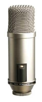 Rode Broadcaster - Micrófono (Studio, -34 Db, 20-20000 Hz, Alámbrico, XLR-3, 65 x 167 mm)