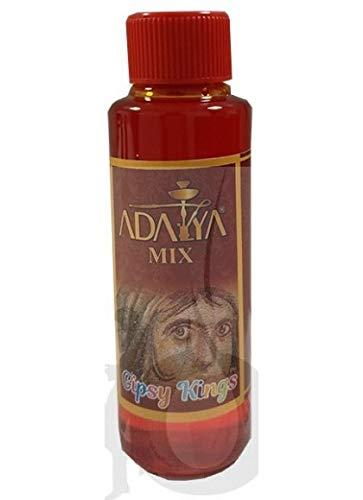Melaza Adalya Gipsy Kings para shisha SIN NICOTINA - Sabor: Melón dulce, Melocotón, Sandía y Limón (170 ml) - Sustitutivo de tabaco sin nicotina para cachimba