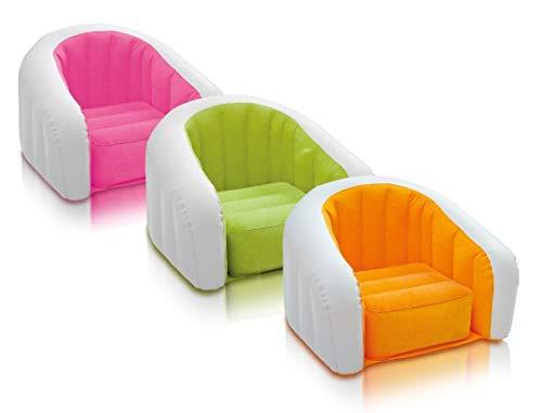 Intex Aufblasmöbel Jr. Cafe Club Chair, Mehrfarbig, 69 x56 x48 cm