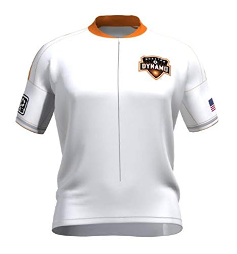 VOmax MLS Houston Dynamo Primary Damen Trikot kurzärmlig, Jungen, Small