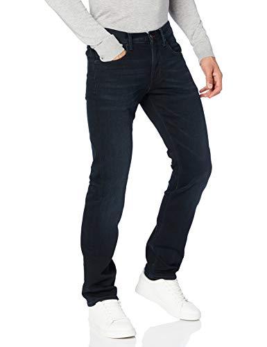 Tommy Hilfiger Hombre Core Denton Straight Jean Jeans, Multicolor (Blue Black 919), W30/L36