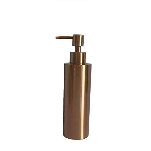 ShiSyan Dispensador de jabón 304 Botella de jabón a Mano de Acero Inoxidable encimera de Oro Rosa Productos del hogar dispensador de la loción 350ml dispensador de jabón