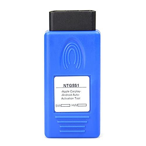 NTG5 S1 herramienta de activación pequeña ilimitada ABS profesional CarPlay Activación herramienta kit de activación para Benz azul