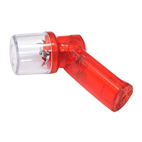 ngzhongtu Molinillo de Tabaco eléctrico Trituradora de Hierbas Especias Molinillos de Humo-Rojo