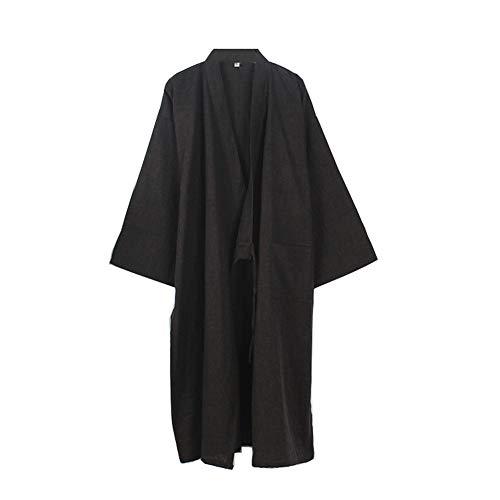 Fancy Pumpkin Kimono japonés Robe Long Yukata Pijamas-TAMAÑO L-02