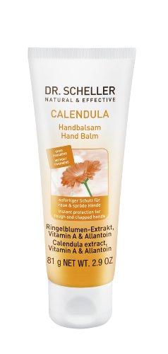 Dr. Scheller Calendula Handbalsam für raue und spröde Hände, 3er Pack (3 x 75 ml)