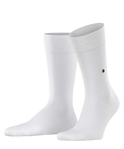 Burlington Herren Lord M SO Socken, Blickdicht, Weiß (White 2000), 40-46 (UK 6.5-11 Ι US 7.5-12)