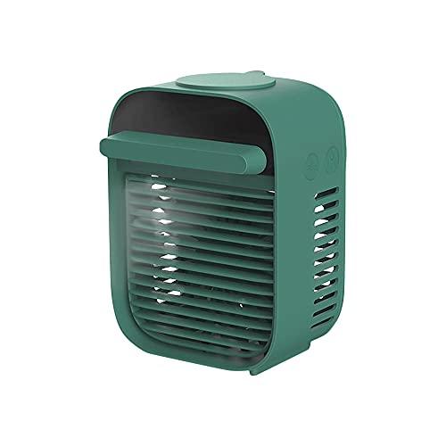 Ventilador De Mesa Usb-F36 Mini Fan 2000Mah Fan Recargable USB Ventilador De Aromaterapia De Verano para Bebés Noche De Bicicleta-Amarillo