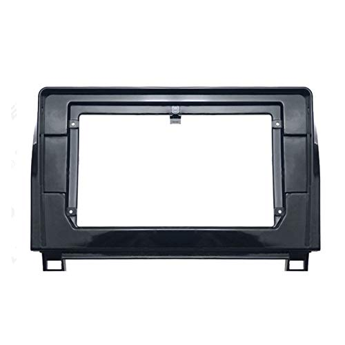CLEIO 10.1inch Car Fascia Double DIN DVD Frame Dash Audio Audio Adaptador de Ajuste Ajuste para Toyota- 2007-2013 Sequoia 2008-2018