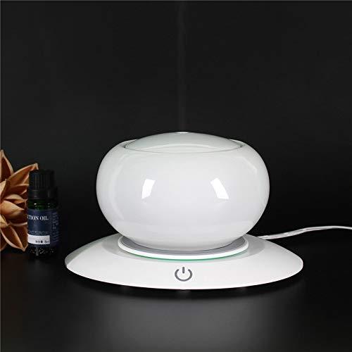 Ultra Leise einfache Reinigung Aroma Diffuser Bluetooth Lautsprecher Keramik Aroma ?therisches ?l Diffusor Wasserlos Auto Absperrung 7 Farbe Led Ultraschall Luftbefeuchter