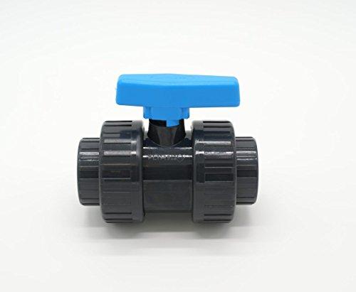 PISCINEO Vanne PVC Pression à Coller diam. 40