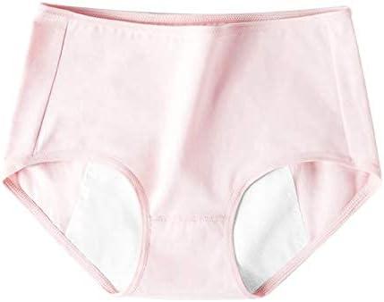 High Waisted Underwear for Women, 4 Pieces Elegant Woman Multicolor High Rise Brief, Ladies Premium Cotton Plain Panties