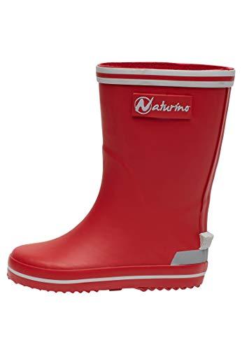 Naturino RAIN Boot-Gummistiefel-Rot rot 27