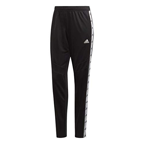 adidas Damen Tiro 19 Training Tape Pants Small schwarz/weiß