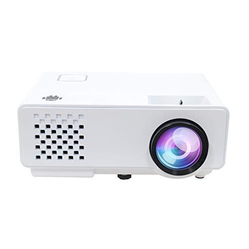 XINHUANG, mini proiettore, 3000 lumen, HD 1080p LED videoproiettore con display da 176', 50.000 durata, proiettore Home Cinema compatibile con Amazon Fire TV Stick, HDMI/VGA/AV/USB