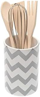 Best chevron utensil holder Reviews