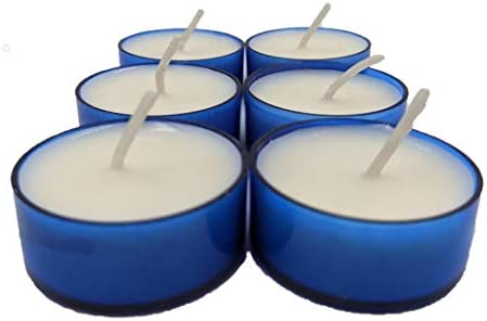 Mulberry Soybean Scented Candle Handmade 6 Pack Tealights product image