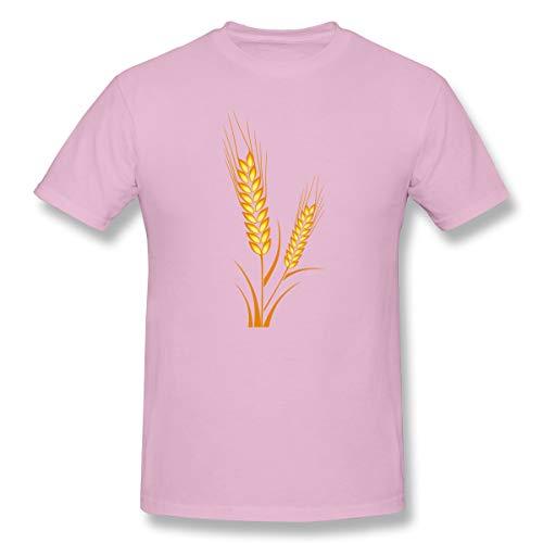 Der Weizen der Männer Oktoberfest Göttingen-Bayern-Brezel, Weizen-lustiges T-Shirt