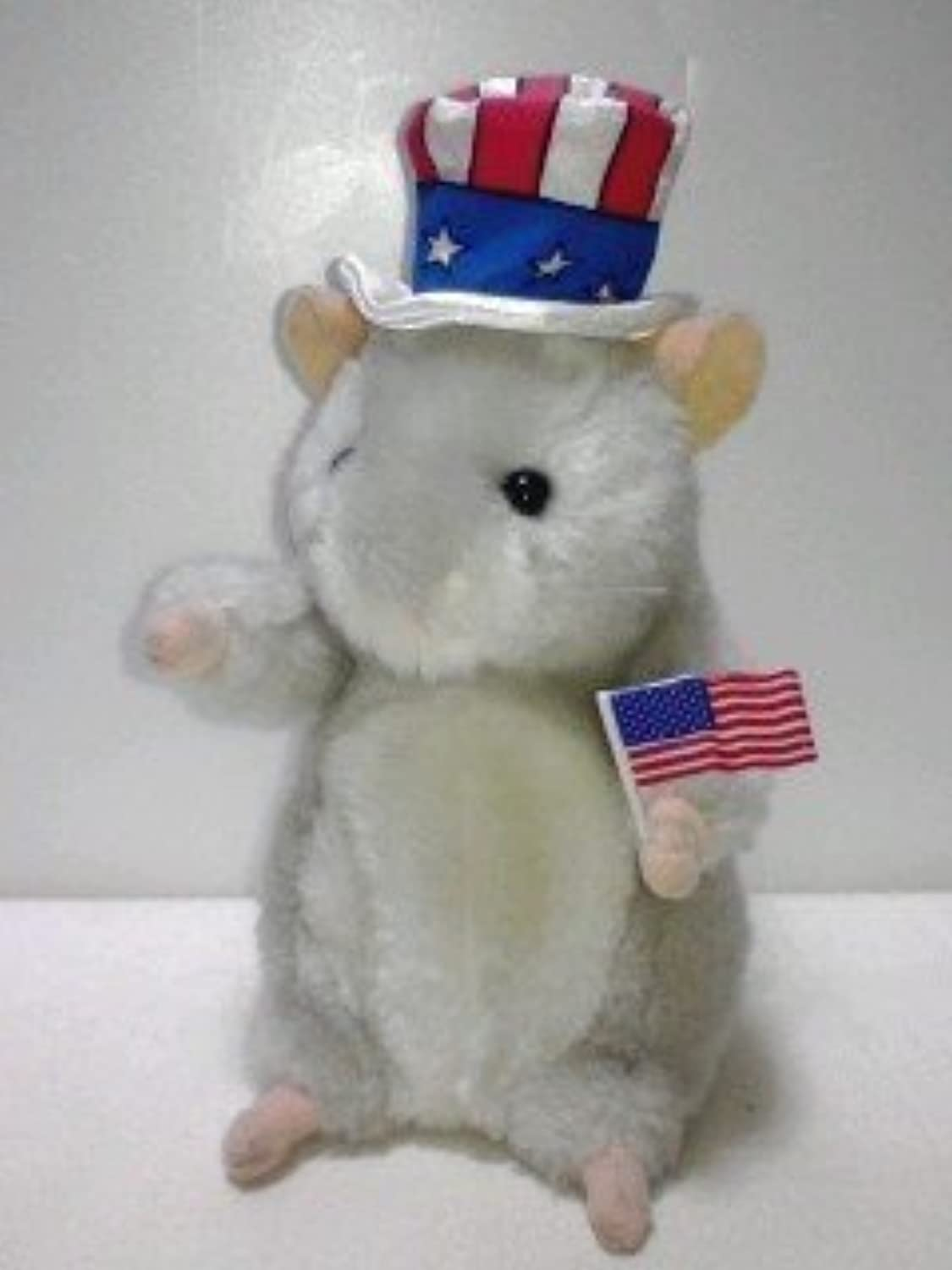 barato Uncle Sammie Dancing Hamster Sings Yankee Doodle Boy by by by Gemmy  ofreciendo 100%