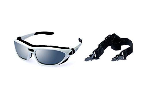Alpland Lunettes de Ski, Montagne, Glacier, Kite-Lunettes de Sport/Inclus Boftbag
