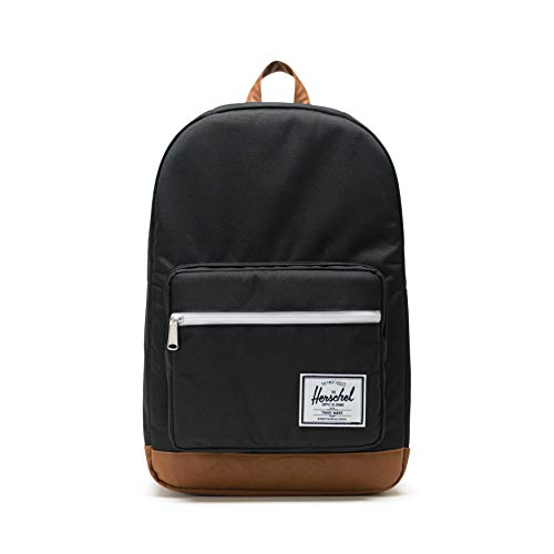 Herschel Pop Quiz Backpack, Black/Tan, Classic 22L
