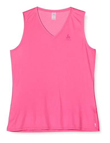 Odlo Bl Top V-Neck Singlet Active F-Dry Light Camiseta Mujer