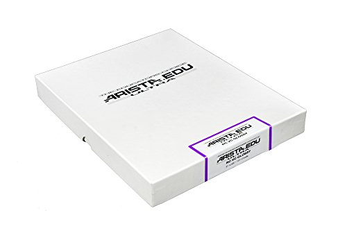 Arista EDU Ultra VC RC Black & White Photographic Paper, Glossy 8x10, 100 Sheets