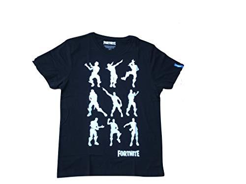 Fortnite Camiseta para hombre. Negro S