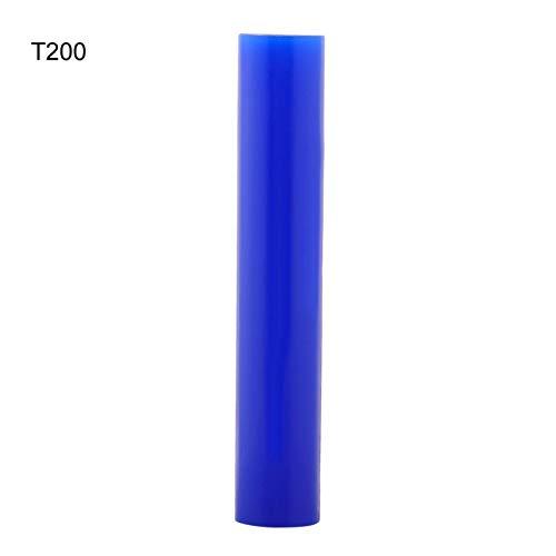 Annjom Blaue Glatte Schmuckringform, Skulpturenschnitzringform, zum Erstellen von Ringen(T200)