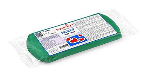 Saracino Pasta Di Zucchero Top Verde Per Copertura Da 500 g Made In Italy