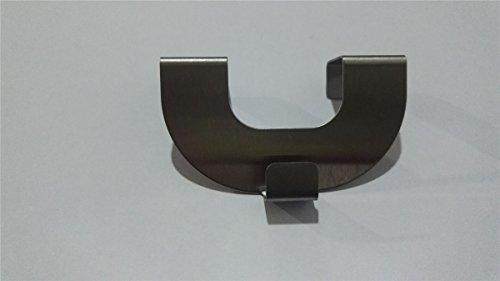 Raffrollo oesenrollo Weiss Transparent Vorhang mit U-Haken B 60cm * H 130cm - 3