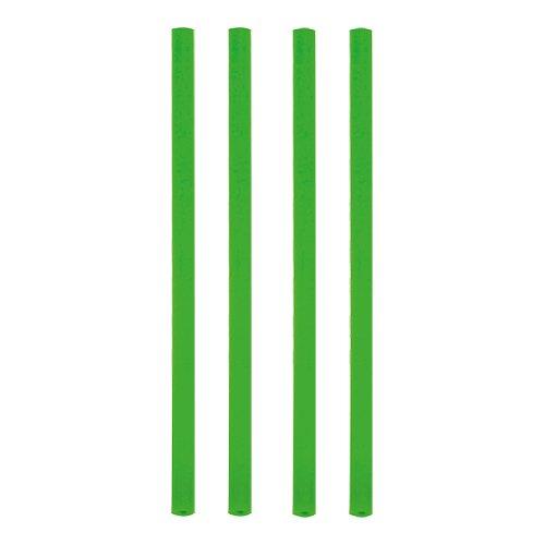 135 Shake-Halme, Trinkhalme, Jumbo Trinkhalme, Cocktailhalme, grün , Ø 8 mm, 25 cm, 12637