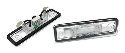 phil trade Set LED SMD Kennzeichenbeleuchtung Kennzeichenleuchten Nummernschild 71002