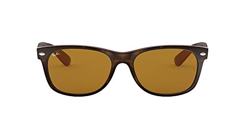 Ray Ban MOD. 2132, Gafas de Sol Unisex, Multicolor (Matte Havana/Brown), 52 mm