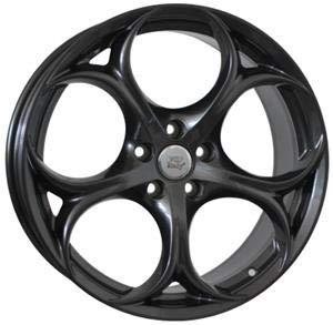 (Set 4pz) Llantas de aleación 19 pulgadas Alfa Romeo-159,159 Sportwagon,Brera,Spider,Stelvio, 8.0x19 5x110 et34 65,1 w258 anthracite