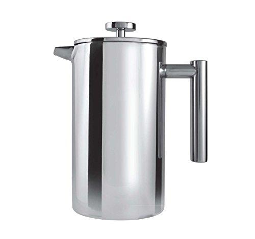 Grunwerg CFD-03 Kaffeebereiter, Edelstahl 18/10, Hochglanz Poliert, 0,35 L