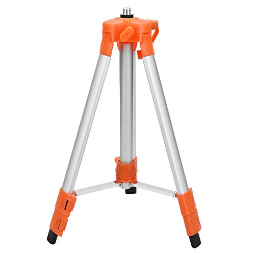 Evtscan Laser Level Tripod, Adjustable Tripod Level Stand for Self-Leveling Laser Level Measurement Tool 1.2/1.5M Measurering Tools Laser Level Stand(1.2m)