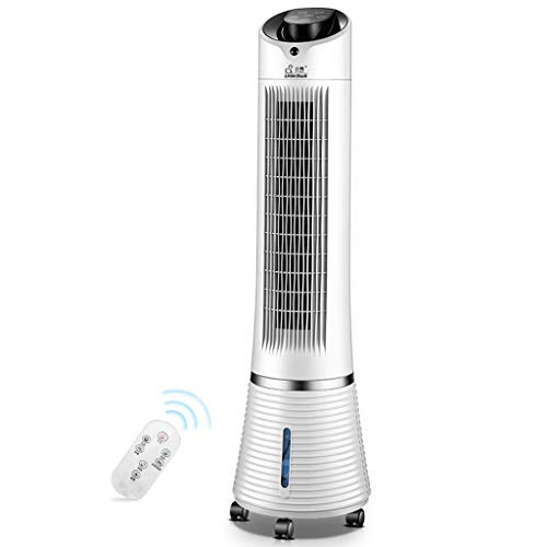 PIGE 4-in-1 Air conditioning fan with remote control, Mobile Water-cooled air tower fan white-55W
