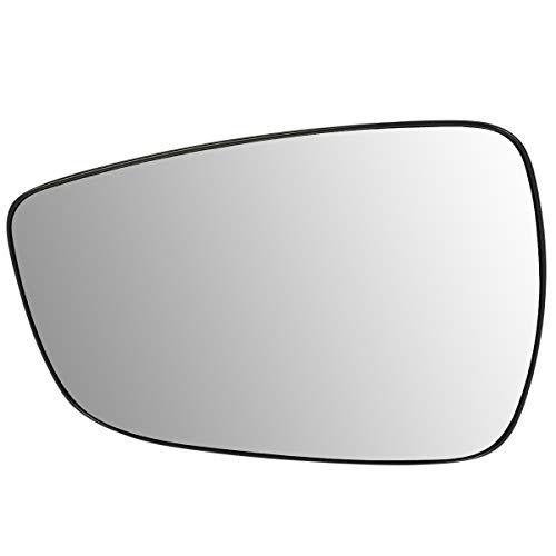 876111R220 OE Style Driver/Left Side Mirror Glass Lens w/Heated Replacement for Accent Elantra 11-17