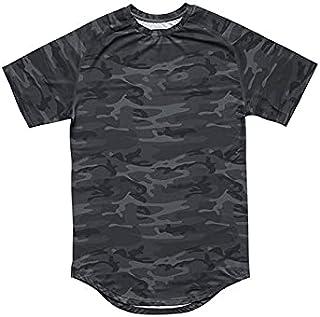 Fbnzmluqdx Tshirt for Men Fashion Men's Camouflage Quick Drying T Shirts Summer New Printed Short Sleeve Tshirt Man Sport ...