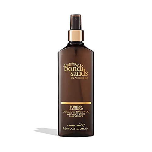 Bondi Sands Everyday Liquid Gold Self Tanning Dry Oil | Hydrating, Quick Drying, Gradual Tanning Dry-Oil for a Natural, Golden Look | 9.68 oz/270 mL