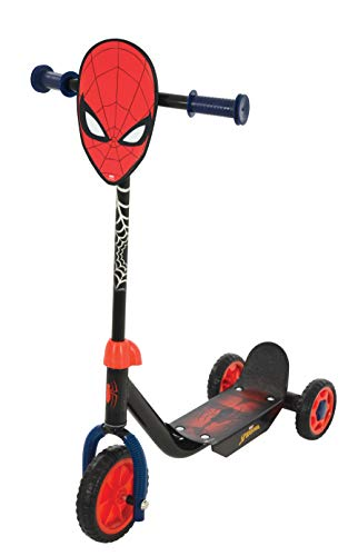 Spider-Man M004008 Tri Scooter, Rojo