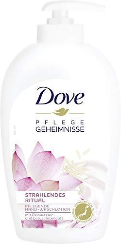 Dove Pflegende Ritual mit Reiswasser und Lotusblütenduft Hand Waschlotion, (6 x 250 ml)