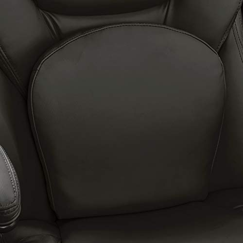 Serta 44186, Back in Motion, Black Bonded Leather