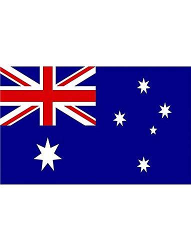 """TrendClub100® Fahne Flagge """"Australien Australia AU"""" - 150x90 cm / 90x150cm"""